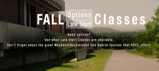 Late Start Classes for Fall 2014