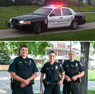 Campus police photo