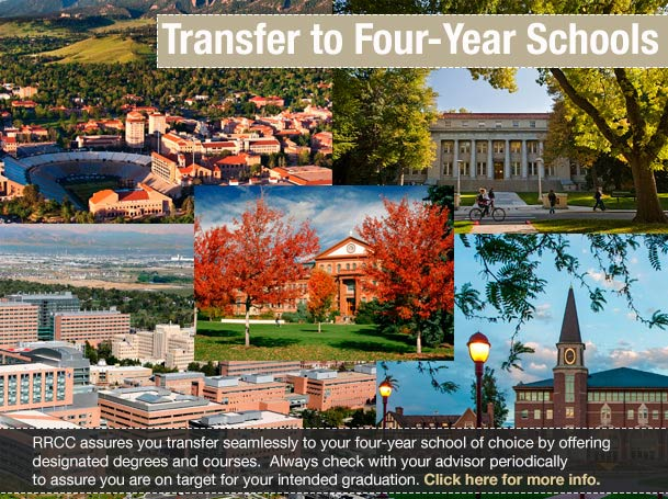 Transfer seamlessly to a 4 Yr school