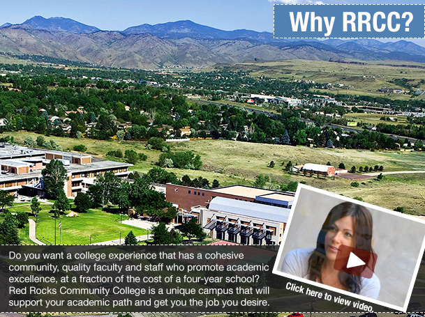 Why choose RRCC? Learn more now.